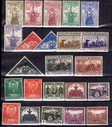 Espagne Petite Collection Neufs * 1930/1931. Bonnes Valeurs. B/TB. A Saisir! - 1931-Today: 2nd Rep - ... Juan Carlos I