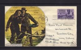 ETATS-UNIS FDC  Centenaire De La Découverte De L'or En Californie 24.1.1948 - First Day Covers (FDCs)