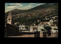 B4826 GIBRALTAR - ROAD TO DOCK & CLOCK - Gibilterra