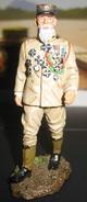 F161 FIGURINE SOLDAT DE PLOMB LEGION ETRANGERE LEGIONNAIRE INSPECTEUR DE LA L.E 1931 - Tin Soldiers