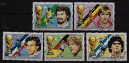 CENTRAFRIQUE   N° 748/51  PA 357  Oblitere  Cup 1986  Football  Soccer Fussball - World Cup