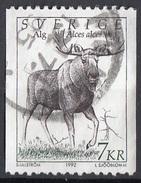 Svezia 1992 Sc. 1934 Alces Alce. Used - Postzegels
