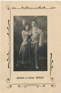 Cirque Circus Arthur Et Leonie Semay Dos Non Carte Postale - Circus