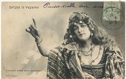 Cirque Circus  Seliska La Voyante Prediction Horoscope L' Année Vous Sera Favorable Bergeret - Circo