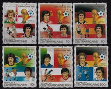 CENTRAFRIQUE   N° 579/82  PA 285/86 Oblitere   Cup 1982   Football Fussball Soccer - Coupe Du Monde