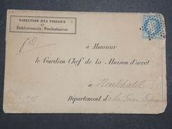 FRANCE - Lettre De La Direction Des Prisons Pour La Prison De Neufchatel En 1867-  L 10523 - 1849-1876: Classic Period