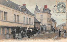 MONTFORT SUR RISLE - La Grande Rue - Hôtel Fleury - France