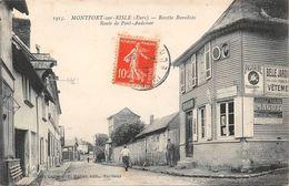 MONTFORT SUR RISLE - Recette Buraliste - Route De Pont Audemer - France