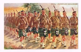 THE ARGYLL AND SUTHERLAND HIGHLANDERS - United Kingdom - Scottish Soldiers- A Company In March - Costumes