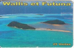 WALLIS & FUTUNA(chip) - Vue Aerienne Ilots Du Centre(no Number), Tirage 10000, Used - Wallis Und Futuna