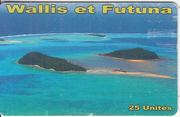 WALLIS & FUTUNA(chip) - Vue Aerienne Ilots Du Centre(no Number), Tirage 10000, Used - Wallis And Futuna