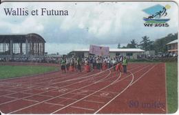 WALLIS & FUTUNA(chip) - Parcours Flamme Olympique(no Number), Tirage 3000, Used - Wallis En Futuna