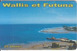 WALLIS & FUTUNA(chip) - Vue Port De Leava(no Number), Tirage 10000, Used - Wallis And Futuna