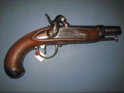 Pistolet De Gendarmerie Mod 1822T - Armes Neutralisées