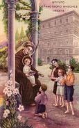 Istituto Orfanotrofio Maschile  Trieste  Sant'Antonio - - Santi