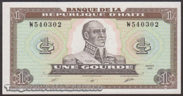 TWN - HAITI 253a - 1 Gourde 1989 Prefix W UNC - Haiti