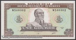 TWN - HAÏTI 253a - 1 Gourde 1989 Prefix W UNC - Haiti