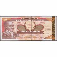 TWN - HAÏTI 271 - 20 Gourdes 2001 200th Ann. Of The Constitution Of Toussaint L'Overture - Prefix TLO UNC - Haiti