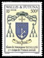 WALLIS ET FUTUNA 2003 - Yv. 611 **   Faciale= 4,19 EUR - Blason Monseigneur Bataillon  ..Réf.W&F21818 - Unused Stamps
