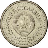 Yougoslavie, Dinar, 1991, TTB+, Copper-Nickel-Zinc, KM:142 - Joegoslavië