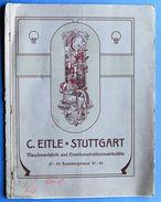 Scienza Tecnica - Catalogo C. Eitle - Stuttgart - Macchine Per Coke-gas - 1903 - Livres, BD, Revues