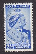 Falkland Islands Dependencies, Scott #1L11, Used, Silver Jubilee, Issued 1948 - Falkland Islands