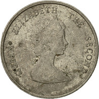 Etats Des Caraibes Orientales, Elizabeth II, 10 Cents, 1981, TTB, Copper-nickel - Caraïbes Orientales (Etats Des)