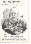 "14/18 TRES BELLE CPA SATIRIQUE ANTI-ALLEMANDE ""ANIMAUX"" (A LIRE) (IMPORTANT : BIEN ZOOMER) SUPERBE - Weltkrieg 1914-18"