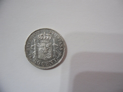 SPAGNA ALFONSO XIII 50 CENT SILVER 1892. - Spagna