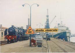 Pacific 231 E 22 En Manoeuvre, à Calais-Maritime (62) - - Calais