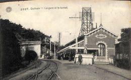 Dolhain - La Gare Et Le Tunnel (animée, G. Hermans, 1911) - Limbourg