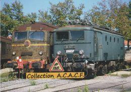 Locos BB 8177 Et CC 65500, Au Dépôt De Miramas (13) - - Equipment