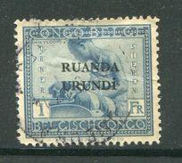 RUANDA URUNDI- Y&T N°71- Oblitéré - Ruanda-Urundi