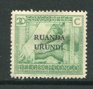 RUANDA URUNDI- Y&T N°62- Neuf Avec Charnière * - Ruanda-Urundi