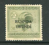 RUANDA URUNDI- Y&T N°53- Neuf Avec Charnière * - Ruanda-Urundi