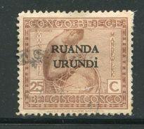 RUANDA URUNDI- Y&T N°54- Oblitéré - 1924-44: Usados