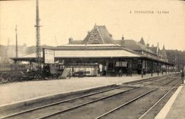 Pepinster - La Gare (animée, Saia) - Pepinster
