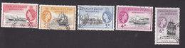Falkland Islands Dependencies, Scott #1L22-1L26, Used, Ships, Issued 1954 - Falkland Islands