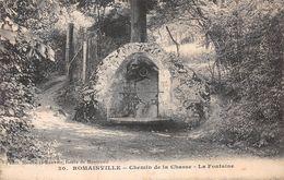 93 - Romainville - Chemin De La Chasse - La Fontaine - Romainville