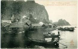 VIETNAM  HANOI  Tonkin  Habitations Palustres Prés De Grand Rocher  Indochine-Française - Vietnam