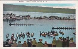 New York Ithaca Regatta On Lake Cayuga