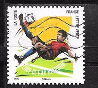 FRANCE Adhésif Oblit 1286 Football Coup De Pied Retourné - Adhesive Stamps