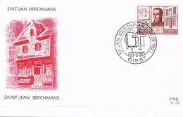 Belgien FDC Michel 1392 - Heiliger, Historisches Gebäude Diest - Architektur, Religion, Jesuiten - FDC