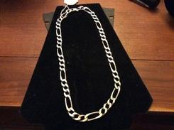 Gros Chaîne  En Argent 84g - Necklaces/Chains