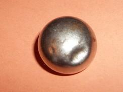 Bottone Metallico Da Giubba Militare Francese Ottocentesca, Cm. 1,8. - Bottoni