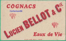 Buavard - Cognacs Lucien Bellot & Cie - Eaux De Vie - Buvards Marceml Scmitt - Belfort - Liquor & Beer