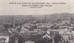 Bird's Eye View Of Allentown PA, Taken Drom Diehl's Furniture House (pk40678) - United States