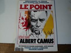LE POINT N°1091 DU 14 AOUT 1993. ALBERT CAMUS ALAIN DUHAMEL - Psychologie/Philosophie