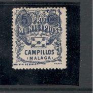Spain1937:SPANISH CIVIL WAR   ...CAMILLOS(Malaga)mnh** - Emisiones Nacionalistas