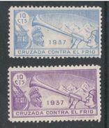 Spain1937:SPANISH CIVIL WAR   ...Galvez.13/14mh* - Emisiones Nacionalistas